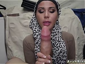 Arab plows milky fellow Desert vulva