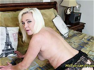 crazy pissing honeypot mega-bitch instruction with Ms Paris Rose